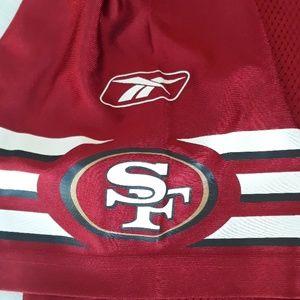 XL SF 49ers Reebok jersey